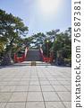 住吉大社是住吉神社的頭廟,是大阪最大的神社。 76587381