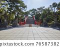 住吉大社是住吉神社的頭廟,是大阪最大的神社。 76587382