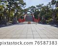 住吉大社是住吉神社的頭廟,是大阪最大的神社。 76587383