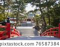 住吉大社是住吉神社的頭廟,是大阪最大的神社。 76587384