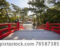 住吉大社是住吉神社的頭廟,是大阪最大的神社。 76587385