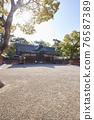 住吉大社是住吉神社的頭廟,是大阪最大的神社。 76587389