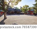 住吉大社是住吉神社的頭廟,是大阪最大的神社。 76587390
