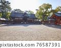 住吉大社是住吉神社的頭廟,是大阪最大的神社。 76587391