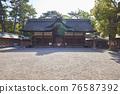 住吉大社是住吉神社的頭廟,是大阪最大的神社。 76587392