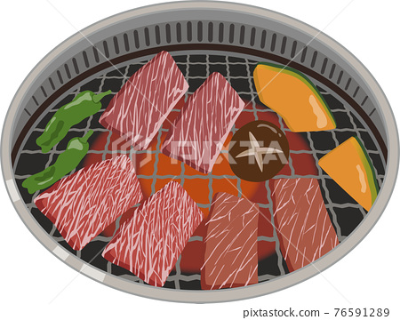 燒肉 韓國燒烤 日式燒肉 76591289