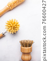 Bamboo Kitchen Scrub Brush Set of 3 76600427
