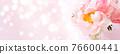 Beautiful Pink peony 76600441