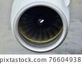 Jet engine, PW4000 engine 76604938