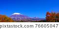 富士山 楓樹 紅楓 76605047