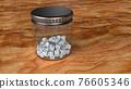 骰子 瓶子 玻璃瓶 76605346
