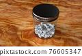 骰子 瓶子 玻璃瓶 76605347