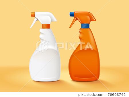Plastic trigger spray bottles 76608742