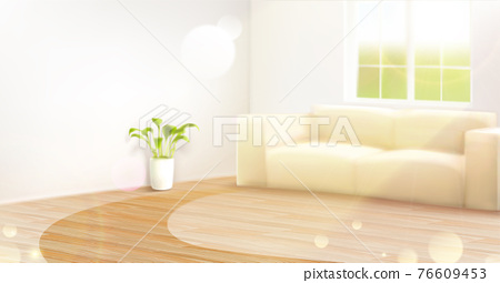 Home living room background 76609453