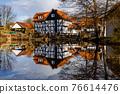 The historic village of Herleshausen in Hesse Germany 76614476