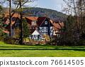 The historic village of Herleshausen in Hesse Germany 76614505