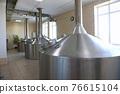 Large metal tanks for brewing beer 76615104