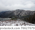 winter country,  snow in mountains 76627079