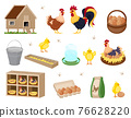 Chicken coop set 76628220