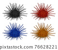 Sea urchin vector 76628221