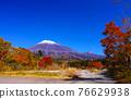 富士山 楓樹 紅楓 76629938