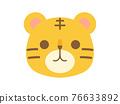 老虎 虎 動物 76633892