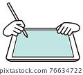 vector, vectors, digital tablet 76634722