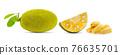 jack fruits on white background 76635701