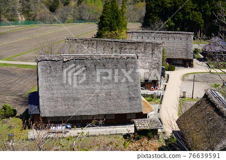 Kakinuma Gassho village built in spring 76639591