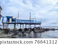boccadasse santa chiara genoa old village cement stone pier beach 76641312