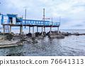 boccadasse santa chiara genoa old village cement stone pier beach 76641313