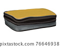 cosmetic bag isolated 76646938