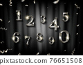 Birthday silver numbers 76651508