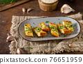 Butter garlic baguette 76651959