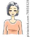 婦女的插圖 76656329