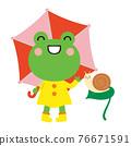 青蛙 雨季 梅雨 76671591