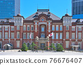 [Tokyo, March 2021] Tokyo Station cityscape 76676407