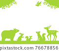 animal, animals, silhouette 76678856