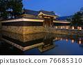 summer, matsumoto castle, gate 76685310