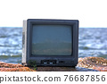 concept of television and world 76687856