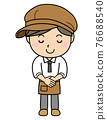 salesperson, shop assistant, staff 76688540