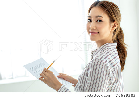 젊은여성,라이프스타일,비즈니스 76689383
