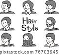 髮型 男人 男 76703945
