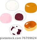 wagashi, japanese confectionery, japanese candies 76709624