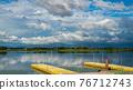 池塘 鹹水湖 風景 76712743