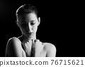 luxury female portrait 76715621