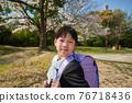 cherry blossom, cherry tree, child 76718436