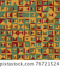 Seamless pattern geometric. Colorful abstract background. Vector design 76721524