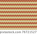 Zigzag pattern seamless. Zig zag background color. Vector abstract design. 76721527
