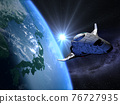 地球儀 土地 土 76727935